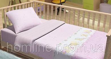 Постельное белье для младенцев KidsDreams Baby bear розовое детское в кроватку