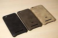 Кожаный Чехол-Накладка для Xiaomi Redmi 4A (3 Цвета), фото 1