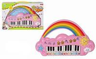 """Орган """"Детское пианино"""", 3 цвета, музыка, свет, 9012"""