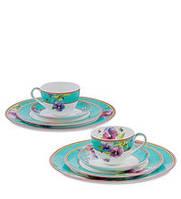 """Чайный набор на 2 персоны """"Виола"""" (Viola Pavone) из костяного фарфора JK-112, фото 1"""