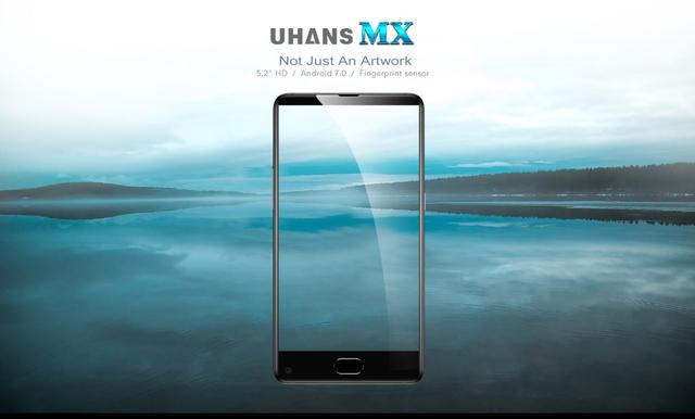27e6d0bc63a49 Купить Смартфон ORIGINAL UHANS MX (4X1.3Ghz; 2Gb/16Gb; 8МР/5МР; 3000 ...