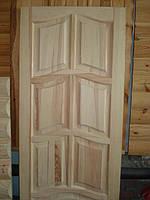 Двери из сосны филенчатые глухие 600-700-800*2000