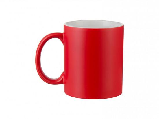 Чашка для сублимации хамелеон ПОЛУГЛЯНЕЦ 330 мл (красный)