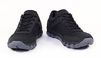 Кроссовки водостойкие на спортивной подошве, кожа+Cordura, 12д черные, фото 1