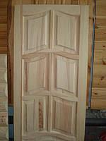 Двери из сосны филенчатые глухие 900*2000