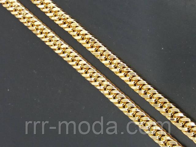 Позолоченные мужские толстые цепи оптом, украшения на шею, мужские широкие цепочки под золото оптом.