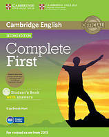 Complete First 2nd Edition Student's Book with answers and CD-ROM and Class Audio CDs