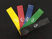 Резинки тренажер для фитнеса и йоги 25см (5шт), фото 1