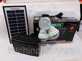 Портативний зарядний пристрій на сонячній батареї GD-8006A