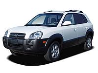 Лобовое стекло Hyundai Tucson с молдингом (2004-2010)