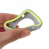 Силиконовый защитный корпус Primo для Apple Watch 42mm - Grey / Yellow, фото 4