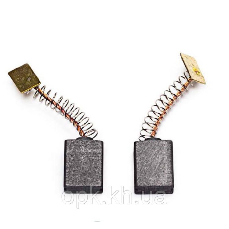 Щетки угольно-графитовые тст-н 6,5*11 мм (контакт - прямоугольник, комплект - 2 шт)
