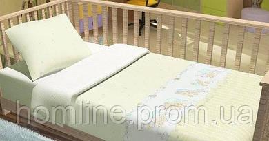 Постельное белье для младенцев KidsDreams Baby bear бежевое детское в кроватку