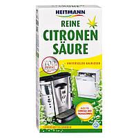 Очиститель от накипи 375г для посудомоечных, стиральных, кофе- машин на основе лимонной кислоты Heitmann