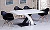 Кресло офисное пластиковое черное, кресло для ожидания, кресло садовое (Тауэр Вуд черный), фото 6