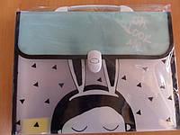 Папка портфель с ручкам и на 12 отделений