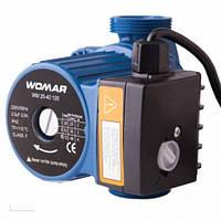 Циркуляционный насос WOMAR 25/40/130 (гайки +кабель с вилкой)
