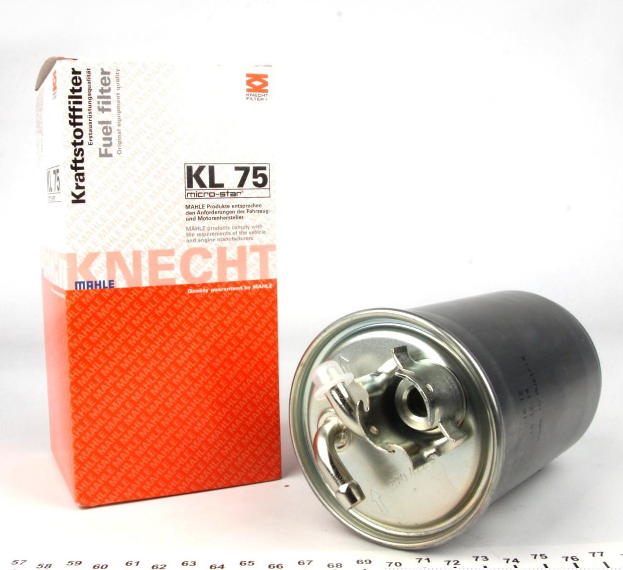 Топливный фильтр c подогревом VW-T41.9-2.5TDI-90-03 Golf-II Golf III1.9D/TDI-91-99-KNECHT-KL 75-Германия