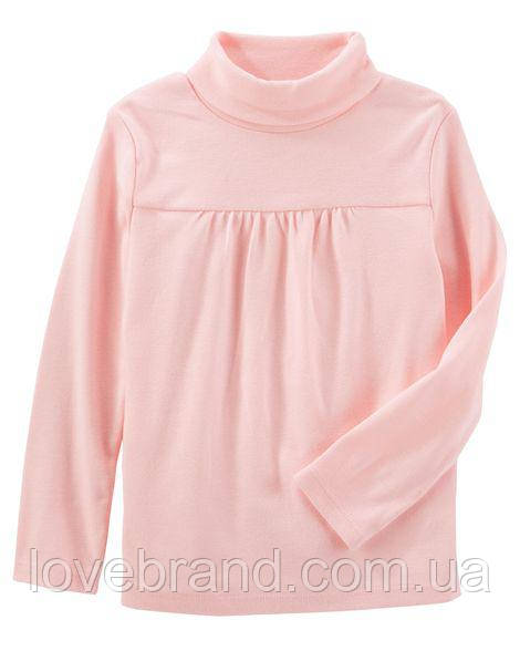 Детский гольф OshKosh для девочки розовый 5Т/105-111 см (водолазка)