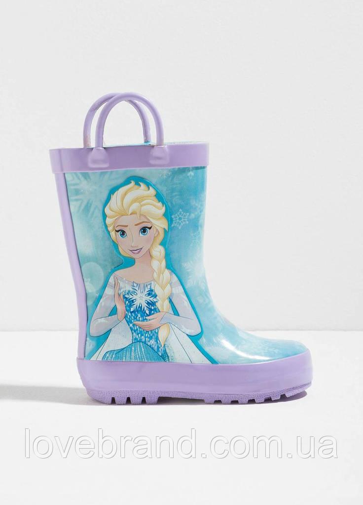 Резиновые чоботы Frozen OVS для девочки голубой 25