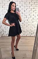 Платье  женское  летнее черное  , коттон !, фото 1