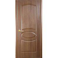 """Двери ПВХ """"Вензель"""" 80 (зол. ольха)"""