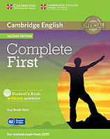 Complete First 2nd Edition Student's Book without answers with CD-ROM