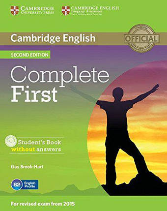 Complete First 2nd Edition Student's Book without answers with CD-ROM, фото 2