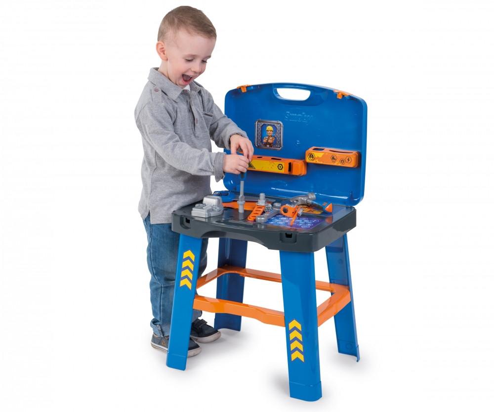 Мастерская-чемодан с инстурментами 2в1 Bob the Builder Smoby 360311