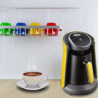 Кофемашина для турецкого кофе Arzum Okka Minio черная c желтым