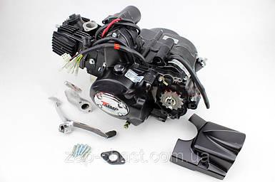 Двигатель для квадроцикла 110куб  автомат (3передачи + 1 задняя)