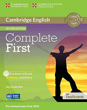 Complete First 2nd Edition Student's Book without answers with CD-ROM and Testbank, фото 2