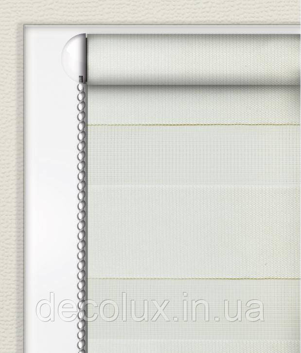Рулонные шторы День-Ночь БЕЛЫЙ (ВН-2700)