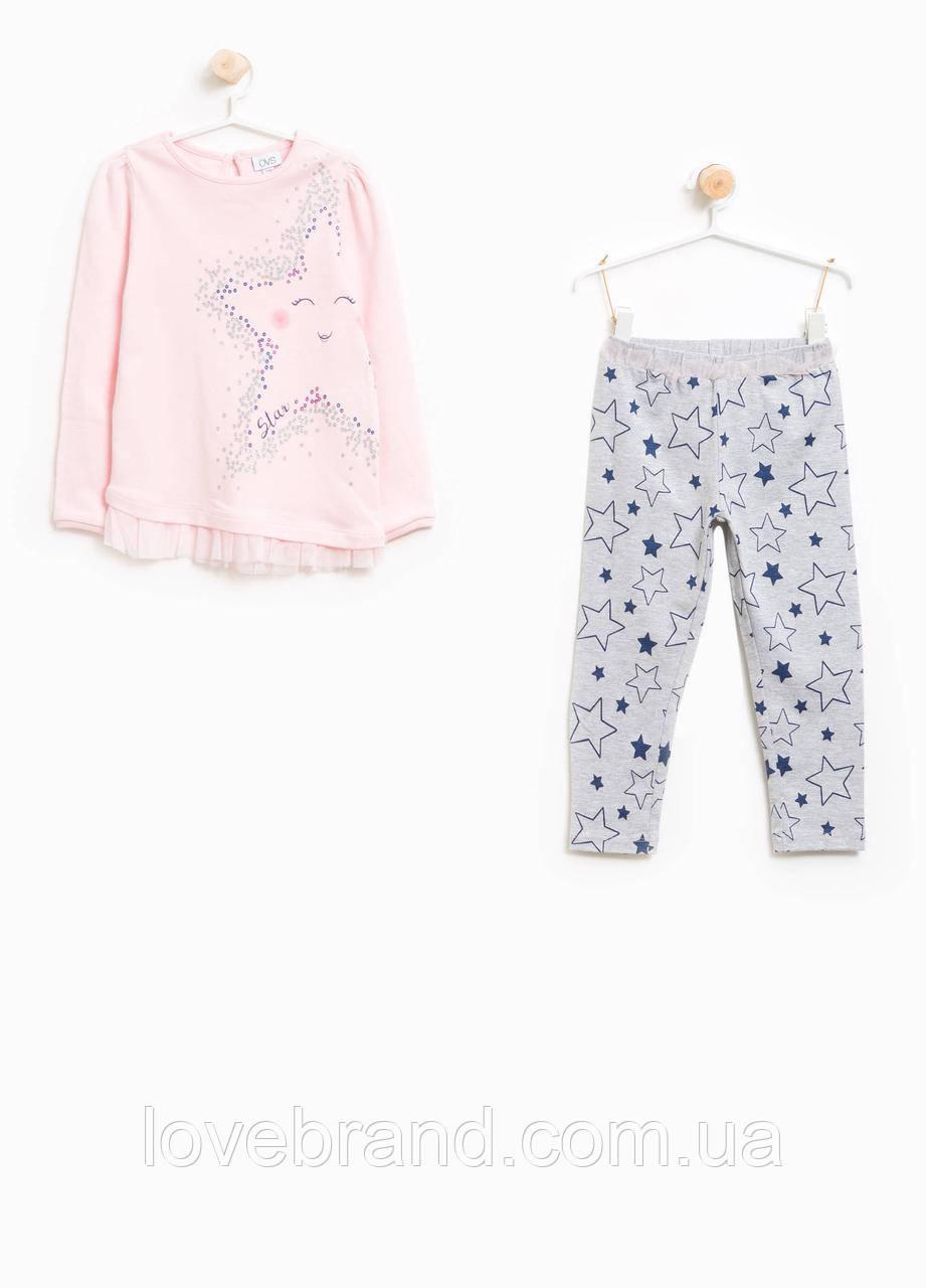 Пижамка OVS для девочки 98-104 см
