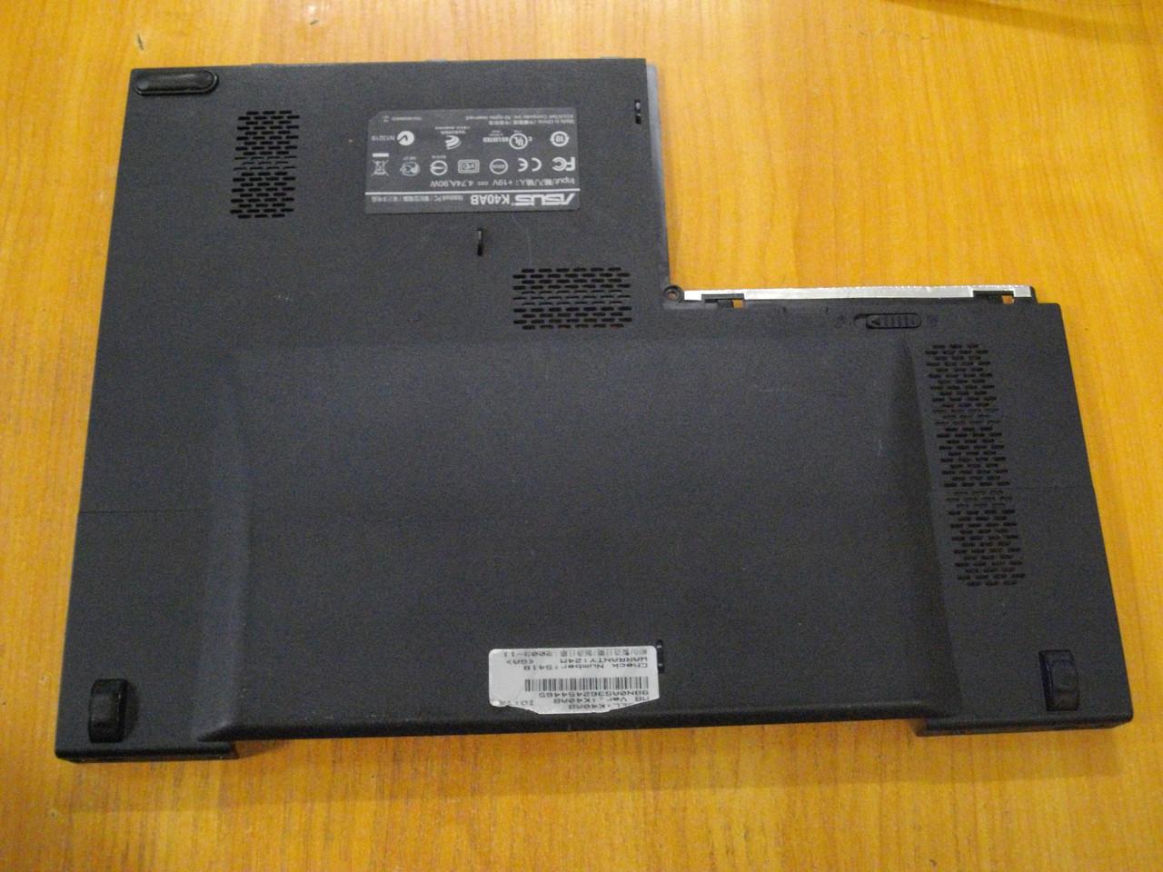 Крышка Люк Корпус от ноутбука Asus K40AB, K40