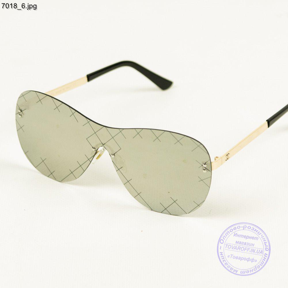 Зеркальные очки Chanel - 7018/1