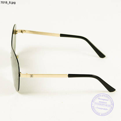 Зеркальные очки Chanel - 7018/1, фото 3