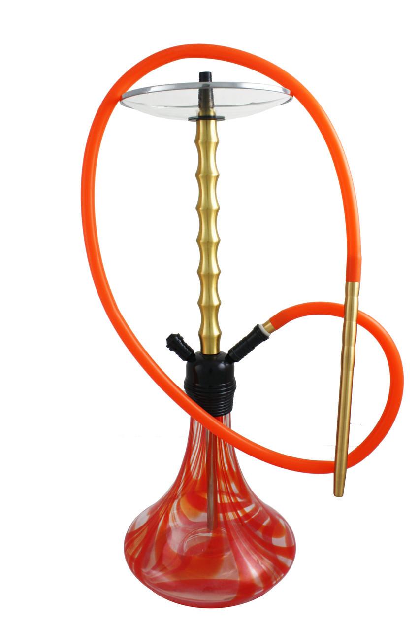 Кальян Hookah 3078 высота 75 см на 1 персону оранжевый