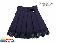 Школьная юбка MONE 1213-2, цвет синий