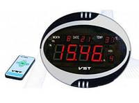 Электронные говорящие часы  770 Т-1, красные
