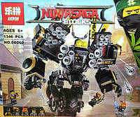Конструктор Lepin Ninja Movie / Ниндзя 06069 Робот-землетрясение (аналог Lego Ninjago Movie 70632)