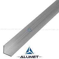 Уголок алюминиевый 10х10х1мм АД31Т5 без покрытия