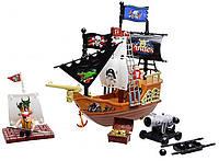 Пиратский корабль с пиратами, 32033A