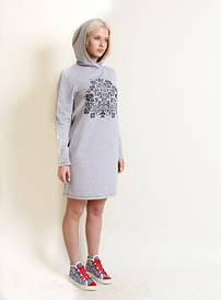 Вышитое женское платье Живица