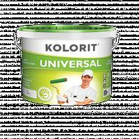 Краска моющаяся Kolorit Universal Колорит Универсал, 10 л