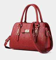 Каркасні ділові сумки з візерунком, фото 3