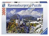 """Пазл """"Нойшванштайн зимой"""" 3000 шт. Ravensburger (RSV-170623)"""