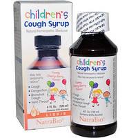 NatraBio, Детский сироп от кашля с вишневым вкусом, 4 жидких унции (120 мл)