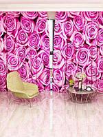 Фотоштора Walldeco Розовые розы (2281p_4_1)