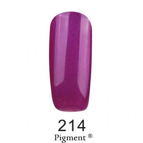 Гель лак Fox Pigment 214 Яркий фиолетовый перламутровый